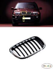 BMW X5 E70 2006-2013 NEW FRONT BUMPER UPPER RADIATOR GRILLE LEFT N//S PASSENGER