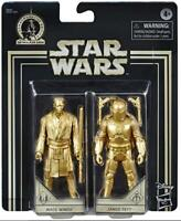 Star Wars Empire Strikes Back Skywalker Saga Mace Windu & Jango Fett Action Figu