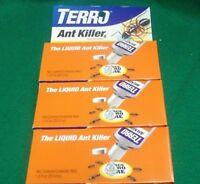 3pk TERRO 1 oz Liquid Ant Killer ll T100 Indoor/Outdoor Bait Pest Control Borax