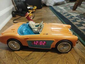 BARBIE1962 Austin Healey Car Electric AM/FM clock radio