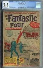 Fantastic Four #13 CGC 2.5 1st App The Watcher Stan Lee