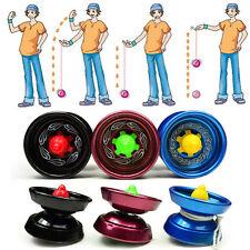 Cool Aluminum Design Professional YoYo Ball Bearing String Trick Alloy Kid_T_wk