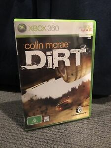 Colin McRae Dirt 1 (Microsoft Xbox 360, 2006) PAL With Manual