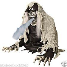Halloween Animated Skeleton Reaper Fog Machine Accessory prop haunted house