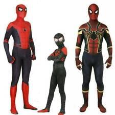 Kids Cosplay  Spiderman Superhero Boys Adult Mens Costume Fancy Outfits Slim Fit