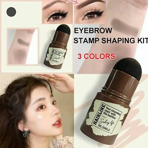 Stamp Brow Stamp Shaping Kit Eyebrow Definer Hairline Shadow Powder Stick