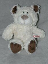NICI WHITE BEAR SOFT TOY  BROWN PAWS TEDDY COMFORTER DOUDOU