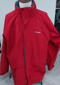 GEN BERGHAUS  Men,s Waterproof Jacket/COAT / GORTEX /XXL / RED