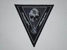 PSEUDOGOD BLACK/DEATH METAL WOVEN PATCH
