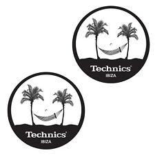Slipmats Technics / DMC IBIZA (1 paire / 1 pair) mibiza NOUVEAU + OVP