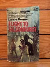 Flight To Falconhurst - Lance Horner 1971 Fawcett Paperback Mandingo