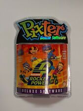 Rare Pixter Deluxe Software Nickelodeon Rocket Power Games Sealed New 2003
