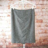 Michael Michael Kors Tweed Skirt Size 6 Gray