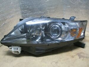 2010-2011-2012 LEXUS RX350 RX450h DRIVERS/LEFT SIDE HALOGEN OEM HEADLIGHT  8888