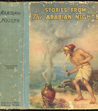 vintage: STORIES FROM THE ARABIAN NIGHTS. 1924. Illustrated
