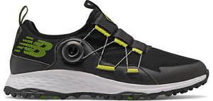 New Balance Fresh Foam Pace SL Boa Golf Shoes NBG4003BKL Black/Lime Men's New