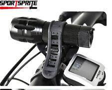 Rotation flashlight bike mount Torch bracket fit Nitecore Surefire Fenix Olight