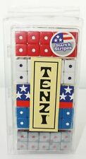 Tenzi Select Stars & Stripes Dice Game 4 Colors Family Party Fun By Carma Games