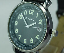 FOSSIL Authentic series Date stainless steel fashion watch JR-8381 WR 50m