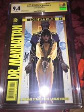(2012) DC BEFORE WATCHMEN DR. MANHATTAN #4 SIGNED BY ADAM HUGHES - CGC SS 9.4