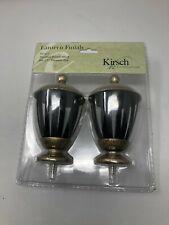 """Kirsch Lantern Finials 1 3/8"""" New"""