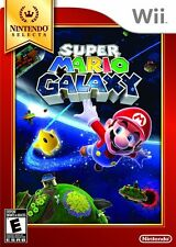 NEW Super Mario Galaxy  (Wii, 2007) Selects NTSC