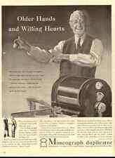 1942 vintage ad for A.B. Dick Mimeograph Duplicator -1574