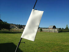 "#1w- 6.5x8.5"" =3x8 usable size-WHITE FISHING TACKLE ACCESSORY COVER & POLE WRAP"