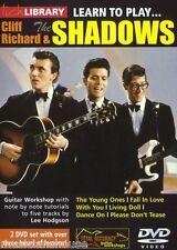 Fare clic su Libreria imparare a giocare CLIFF RICHARD e i relatori ombra Hank Marvin CHITARRA DVD