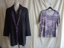 Ladies Smart Jacket/top - Cavita Collections, size 16, purple colour, work 0155