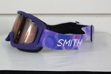 New 2017 Smith Youth Gambler Ski Snowboard Goggles Ultraviolet Dollop RC36 Lens