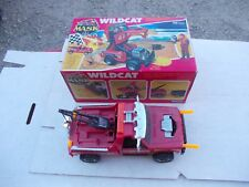 VINTAGE M.A.S.K. 1986 KENNER MASK TOY VEHICLE BOX WILDCAT CLUTCH HAWKS TOW TRUCK
