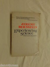 Experiencing Science Profiles in Discovery by Jeremy Bernstein (1980, Paperback)