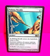 PITHING NEEDLE Foil 10th Edition Artifact RARE Magic The Gathering Card MTG MINT