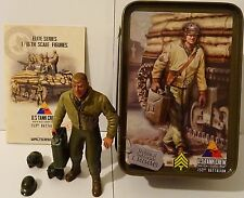 Finished Figure US Private 1st Class Infantry WK II Sitting Torro 1 16