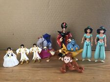aladdin Lot Of 10 Jasmine, Abu, Genie, Elephant, Jafar