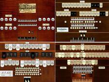 Four Virtual pipe organs for Hauptwerk samples 2 manual