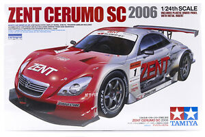 Tamiya 1/24 Lexus SC430 2006 Zent Cerumo Plastic Model Kit