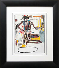 "Jean Michel Basquiat ""Pharynx"" 1985 FRAMED Pop Art Urban Street NEW"