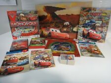 huge lot Disney Pixar CARS board game books DVD cards Monopoly poster gift