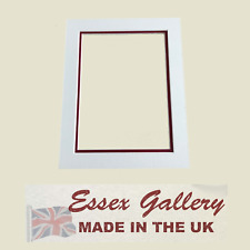 Bespoke Picture & Photo Frame Double Mounts - Cut to Any Size (Max Size 20x16)