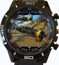 Guerra Mundial Dogfight Nuevo Gt Serie Deportes Reloj Unisex