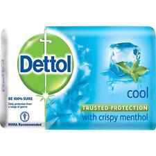5x Dettol Cool Menthol Bar Soap - Skin Anti Bacteria Blue Crispy - 105g 3.7oz