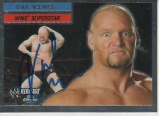 VAL VENIS SIGNED 2006 TOPPS HERITAGE WWE #30 - WWE WCW TNA