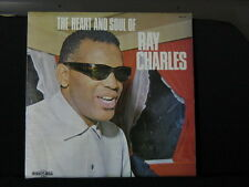Ray Charles. The Heart & Soul Of Ray Charles. 33 lp Record Album. 1973.