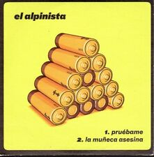 EL ALPINISTA PRUEBAME CD single PROMO