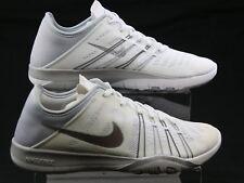 Da Donna Nike Free TR 6 Bianco Mesh Pizzo in esecuzione Scarpe Sportive Scarpe Da Ginnastica Taglia 5 sfumati