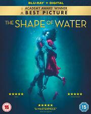 The Shape of Water (Blu-ray) Sally Hawkins, Michael Shannon, Richard Jenkins