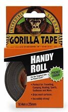 Gorilla Glue Duct Tape 1 Inch Handy Roll Tough Extra Strong Waterproof 9m New