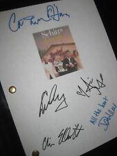 Schitt's Creek Signed TV Script X5 Eugene Levy Catherine O'Hara Dan Elliott rpnt